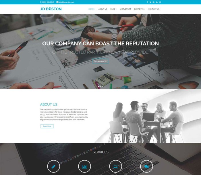 Multipurpose/E-commerce Joomla Template