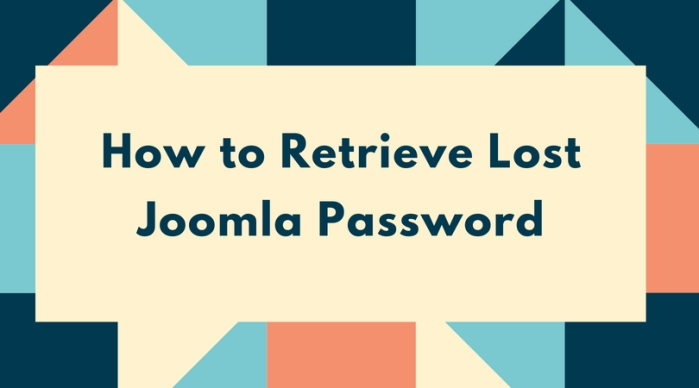 How to Retrieve Lost Joomla Password